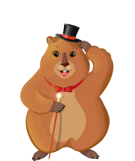 groundhog png clipart