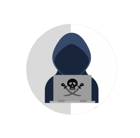 hacker png vector mask