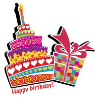 happy birthday clipart png