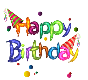 happy birthday png clipart hd