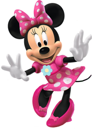 happy cute minnie png