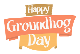 happy groundhog day png