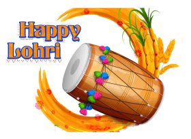 happy Lohri png hd