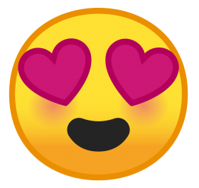 happy love heart emoji png