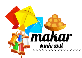 happy makar sankranti png hd vector