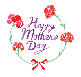 Happy Mother Day logo png