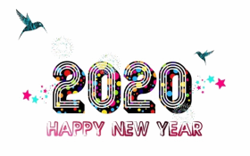 Happy New Year 2020 PNG HD