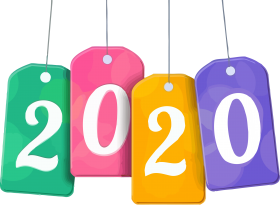 happy new year 2020 png photo for sale