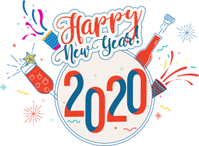 happy new year 2020 png  photos