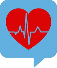 health heart png chat icon