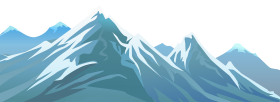 ice mountain png clipart