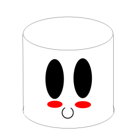 kawaii png in cup