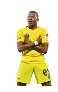 kylian mbappe png PSG