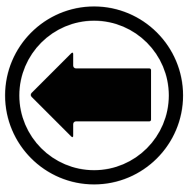 Left Arrow Symbol Png Image Transparent