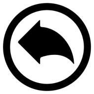 Left black arrow png Image