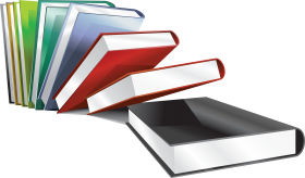 library books png
