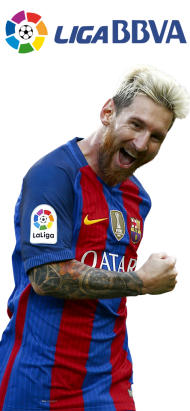 liga messi png hd