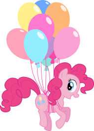 little pony png ballons