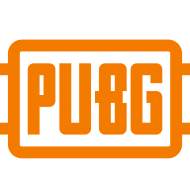 logo pubg png orange color