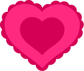 love heart png clipart
