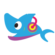 mommy baby shark png music vector