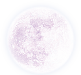moon png white effect