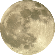 moon png yellow