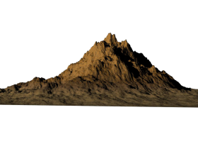 mountain png hd vector