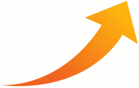 orange arrow png, flechas curvas png