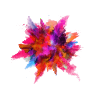 Paint explosion png color