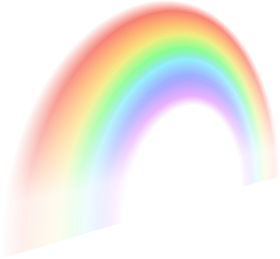 pastel rainbow png hd