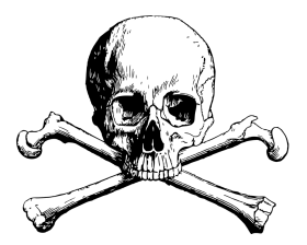 pirata calavera png hd