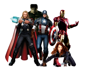 png avengers
