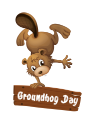 png groundhog day vector