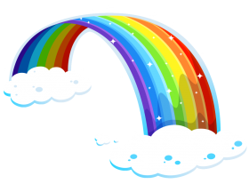 png rainbow clipart