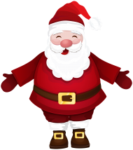 PNG Santa Claus Clipart hd papa hat