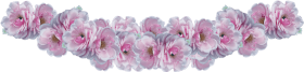 purple flower crown png