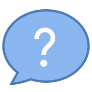 question mark blue png