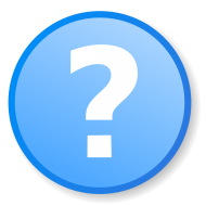 question mark icon blue png