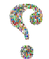 question mark png colores