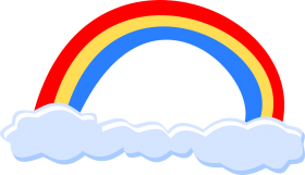 rainbow clipart png