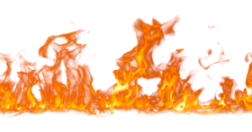 real fire png