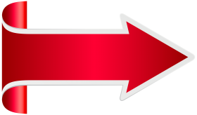 red arrow flecha png roja