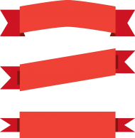 red banner png hd