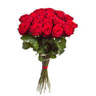 Red bouquet flowers PNG image  transparent background