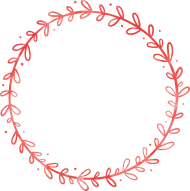 red circle png frame