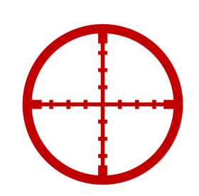 Red crosshair illustration vector hd, Laser tag Target Corporation Toy TAG & TARGET