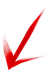 red down arrow png image