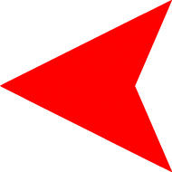 Red Left Arrow PNG