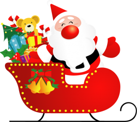 santa cartoon claus png papa noel photo